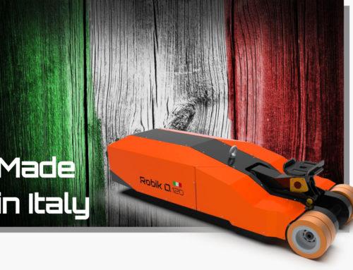 Robik: è 100% italiano il nuovo movimentatore elettrico della divisione SATES Electric Handling